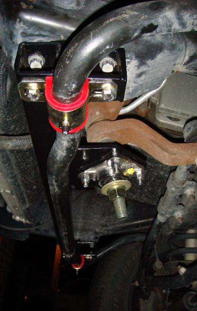 Swaybar drop mount